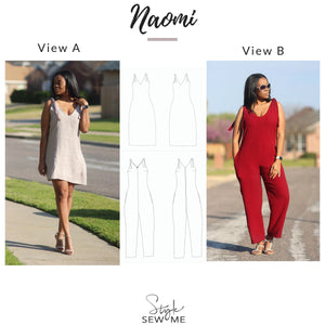 Naomi Patterns Style Sew Me