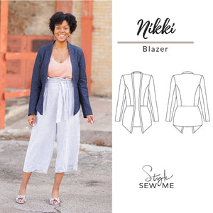 Load image into Gallery viewer, Nikki - Printed Patterns Style Sew Me Printed