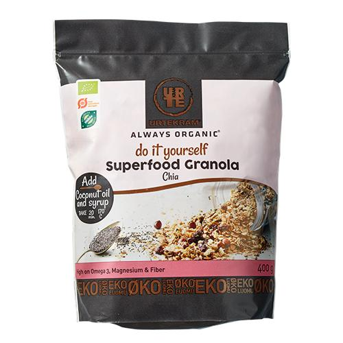 Granola Superfood m. chia Ø Do it Yourself 400,00 g