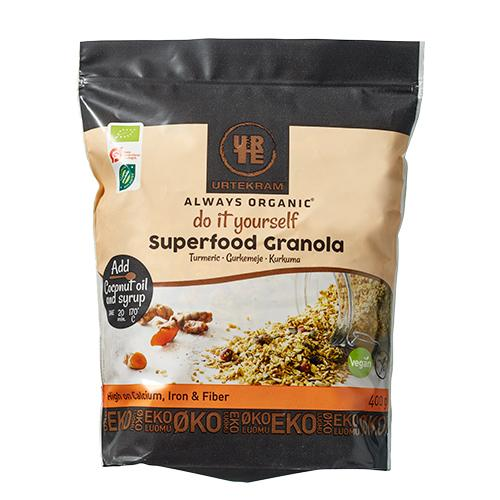 Granola Superfood gurkemeje Ø Do it Yourself 400,00 g
