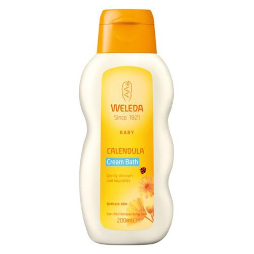 Calendula Cream Bath Mamma  & Baby Weleda 200,00 ml