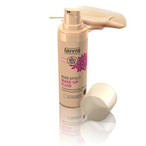 Nude Effect 02 Ivory Nude Make-up Fluid Lavera 30,00 ml