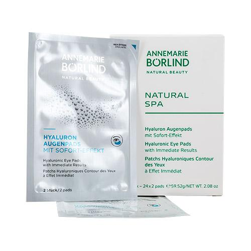 AquaNature Eye Pads (24x2 stk) Natural SPA Annemarie Börlind 48,00 stk.