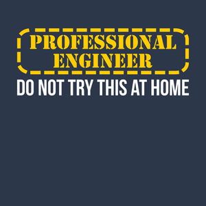 Professional Engineer - Do Not Try This At Home