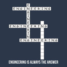Engineering Crossword - Engineering Is Always The Answer