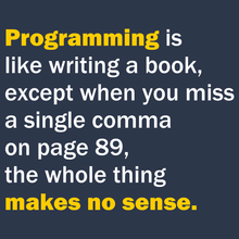 Programming Is Like Writing A Book - Engineering Outfitters
