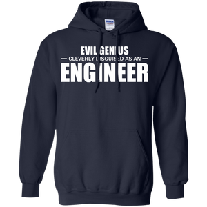 Evil Genius Cleverly Disguised As An Engineer - Engineering Outfitters