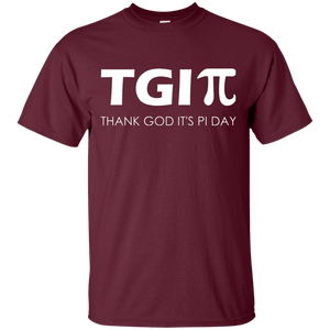 TGI-Pi - Thank God It's Pi Day