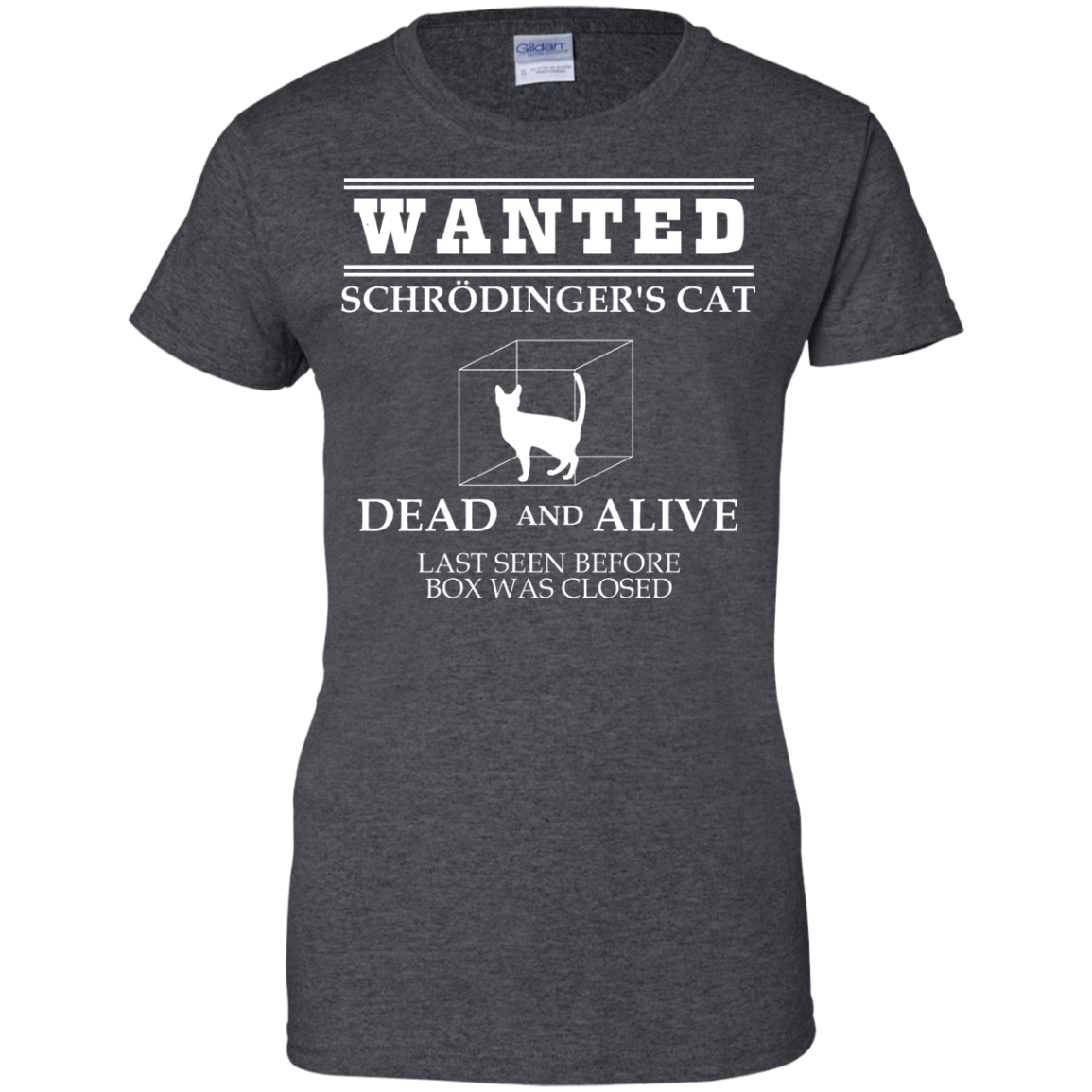 694855adf Wanted Schrodinger's Cat | Funny T-shirts | Engineering Outfitters