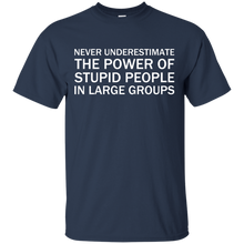 Never Underestimate The Power Of Stupid People In Large Groups