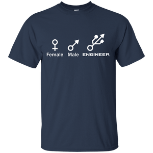 Female, Male, Engineer Symbols - Engineering Outfitters