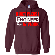 Quiet Please - Engineer At Work