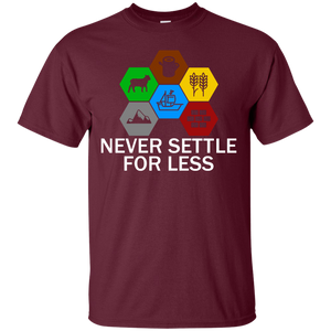 Never Settle For Less - Engineering Outfitters