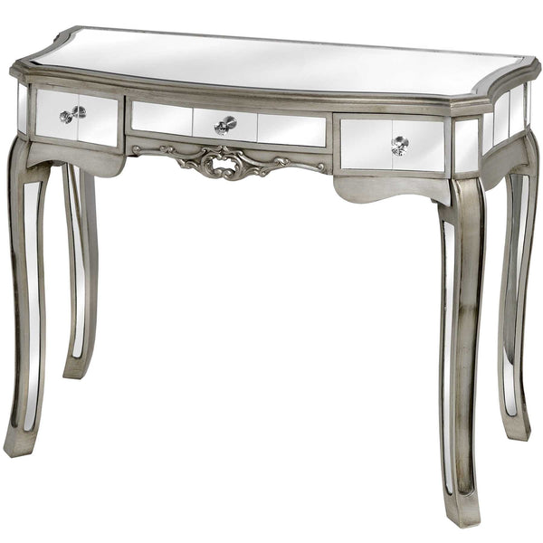 Argente Mirrored Dressing Table - White intimacy