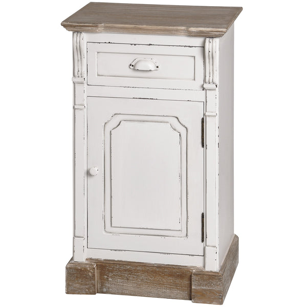 New England Right Hand Side Bedside Cabinet