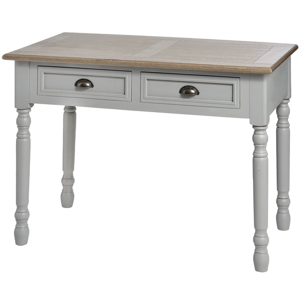 Churchill Collection Two Draw Console - White intimacy