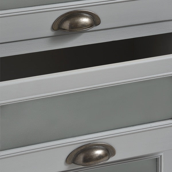 Churchill Collection Nine Draw unit - White intimacy