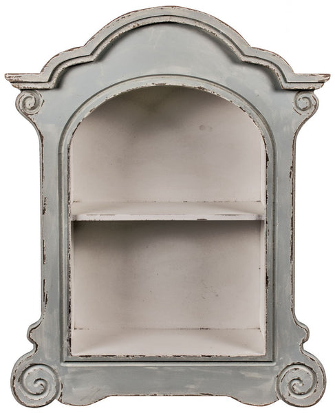 Arched Wall Shelf - White intimacy