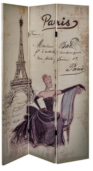 Paris Linen Double Sided Screen