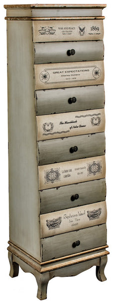 10 Drawer Chest - White intimacy