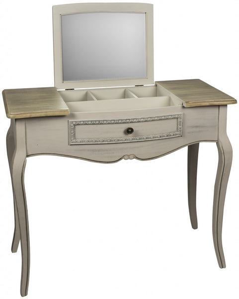 Louisa Console Table With Mirror