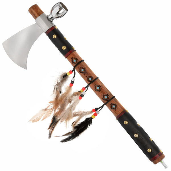 Assassins Creed Tomahawk Peace Pipe Axe Hatchet - White intimacy