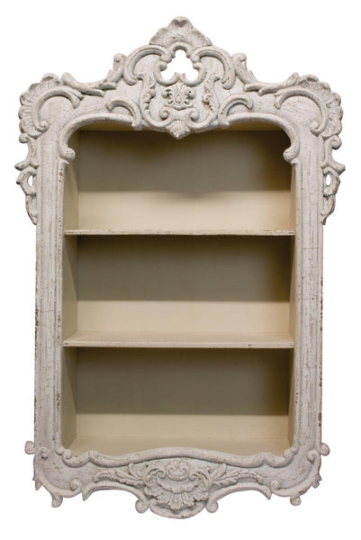 French Country Wall Shelf - White intimacy