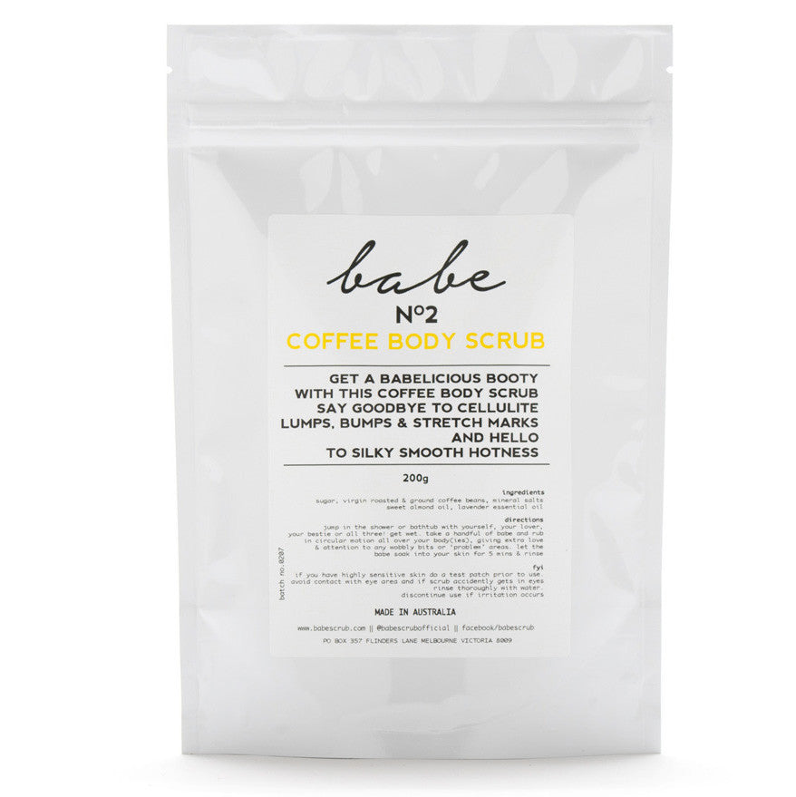 Babe Scrub - Body Scrub In Coffee