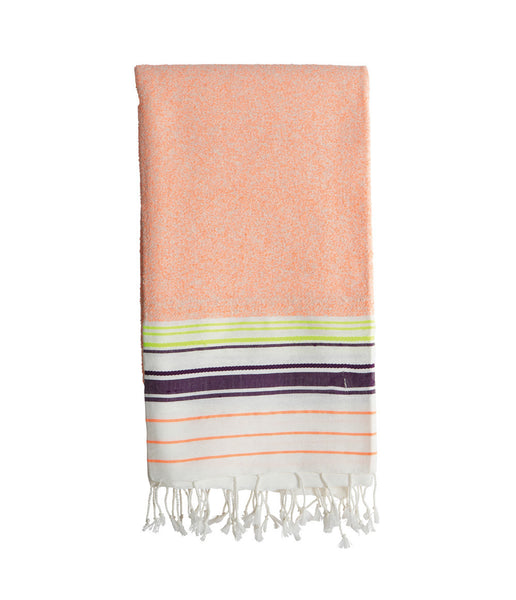 Bath Towel, Neon Orange - Small