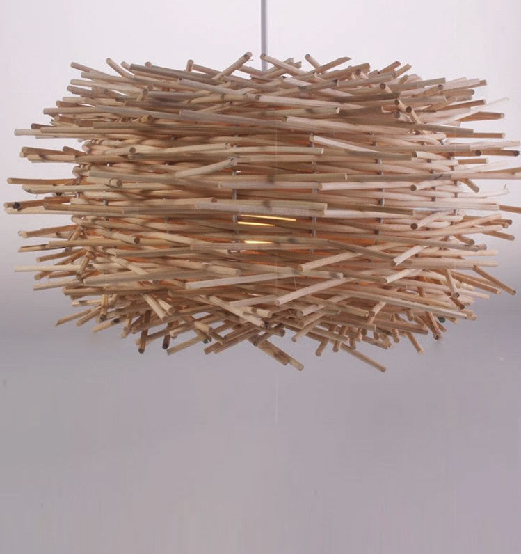 Bird Nest Pendant Light