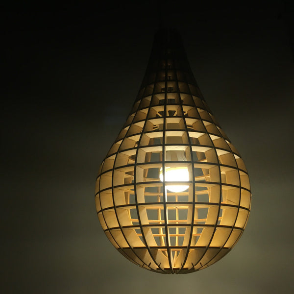 Laser Cut Plywood Light bulb