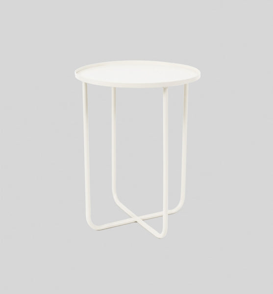 Ed Side Table White