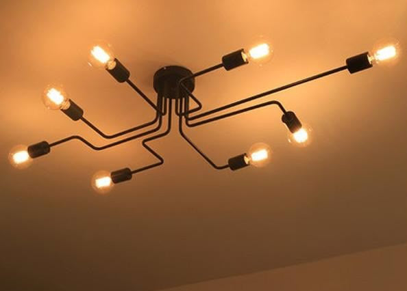 Circuit Pipe Ceiling Light