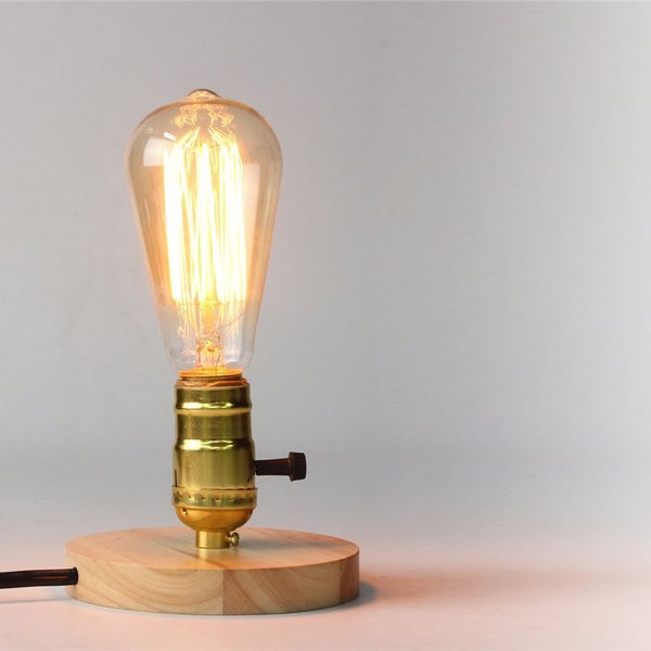 Timber Desk Lamp
