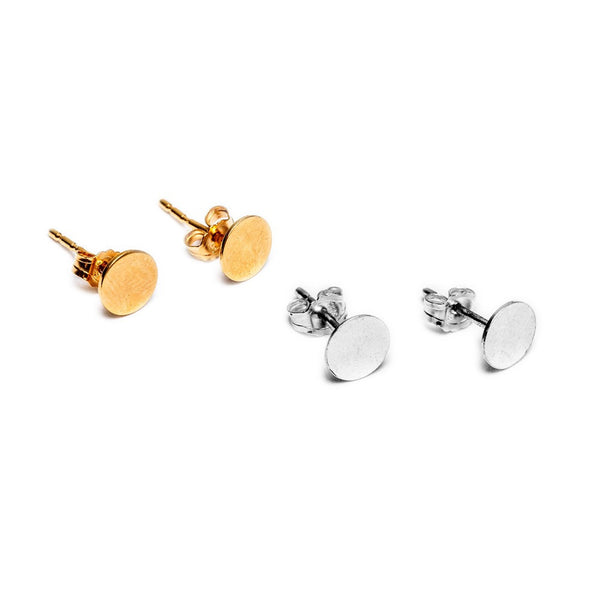 Dot Earring - GOLD & SILVER