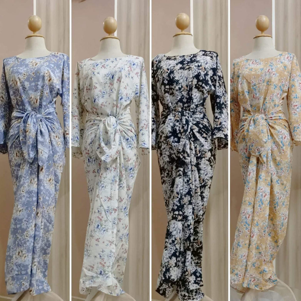 Fairy Floral Maxi Dress - Tia - Samiha Apparels