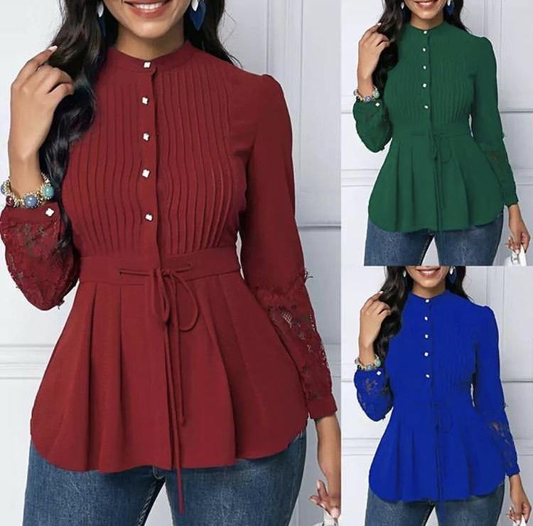 Korean Peplum Tops (PO) - Samiha Apparels
