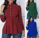 Korean Peplum Tops (PO)