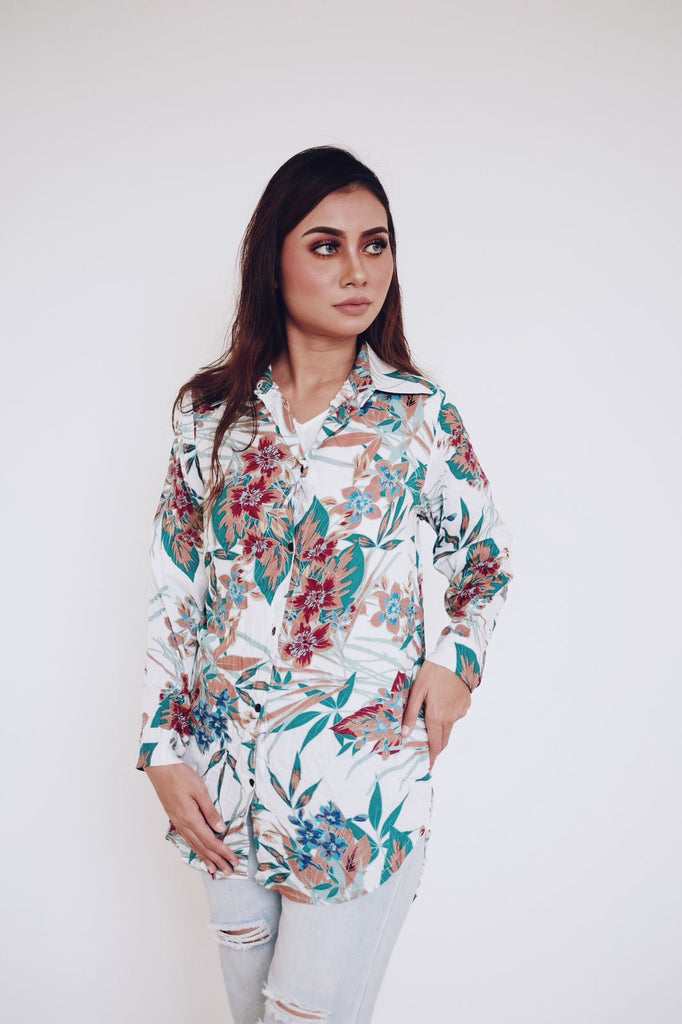 Button Shirt Bonika - Samiha Apparels