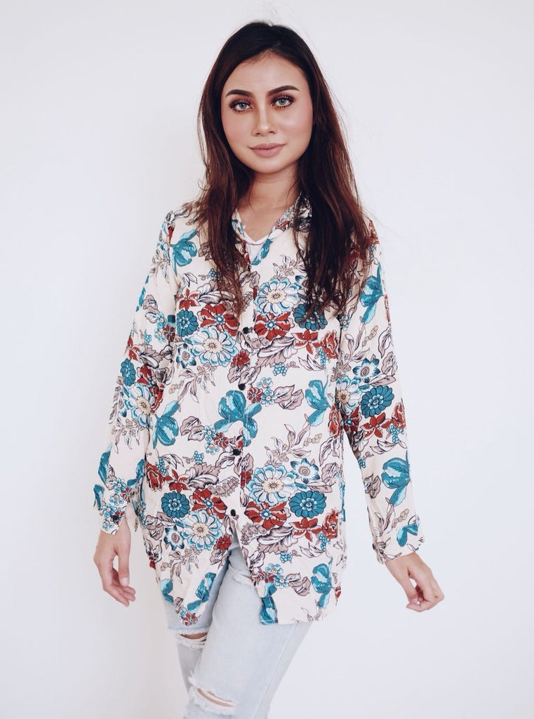 Button Shirt Anemone - Samiha Apparels