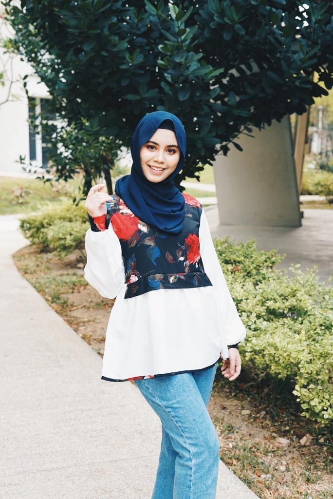 Printed doll Top - Ziyah (Instock) - Samiha Apparels