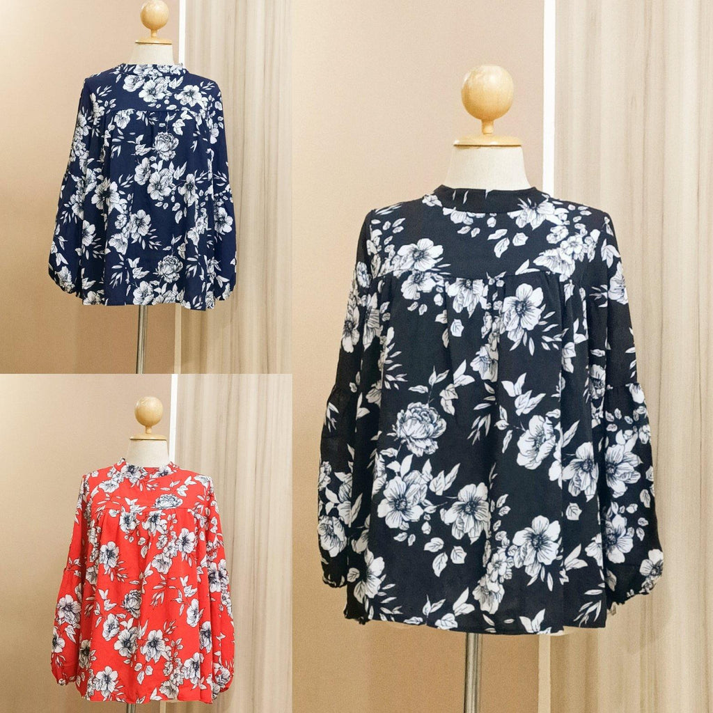 Printed doll Top - Nasri - Samiha Apparels