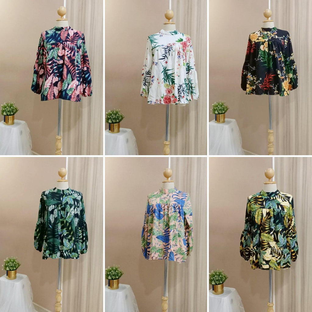 Printed Doll Top - Husya - Samiha Apparels