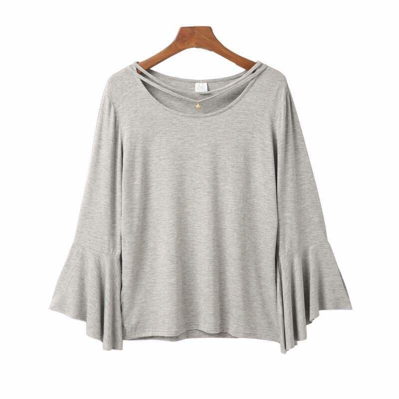 Basic Tee Saniya Korean Tops - Samiha Apparels
