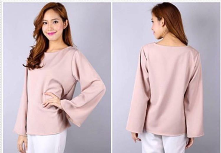 Bella Basic Plain Top - Samiha Apparels