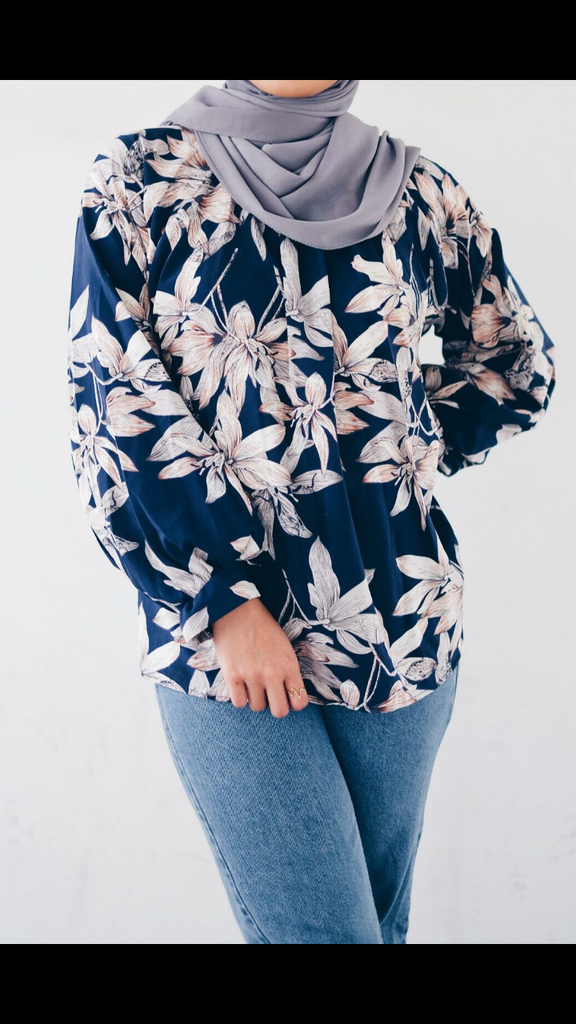 Syrah printed Tops (new in) - Samiha Apparels