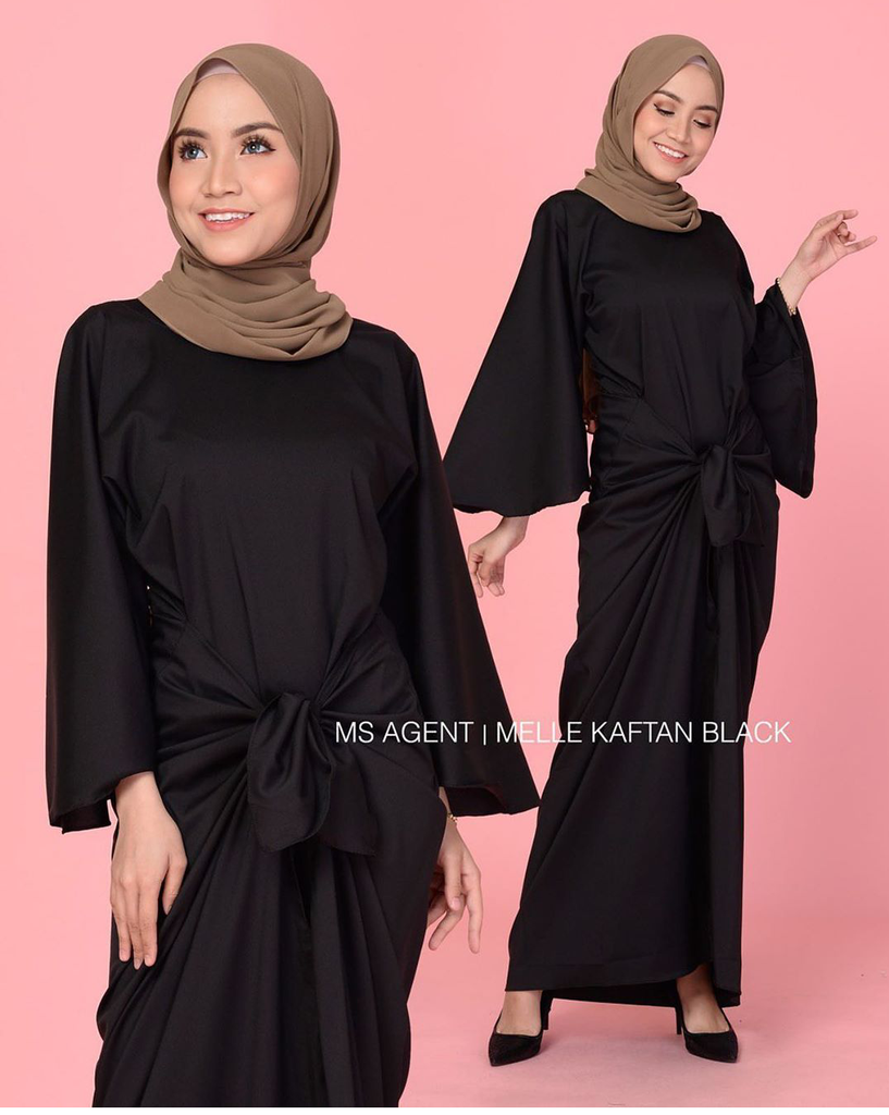 Maxi dress plain - Eja - Samiha Apparels