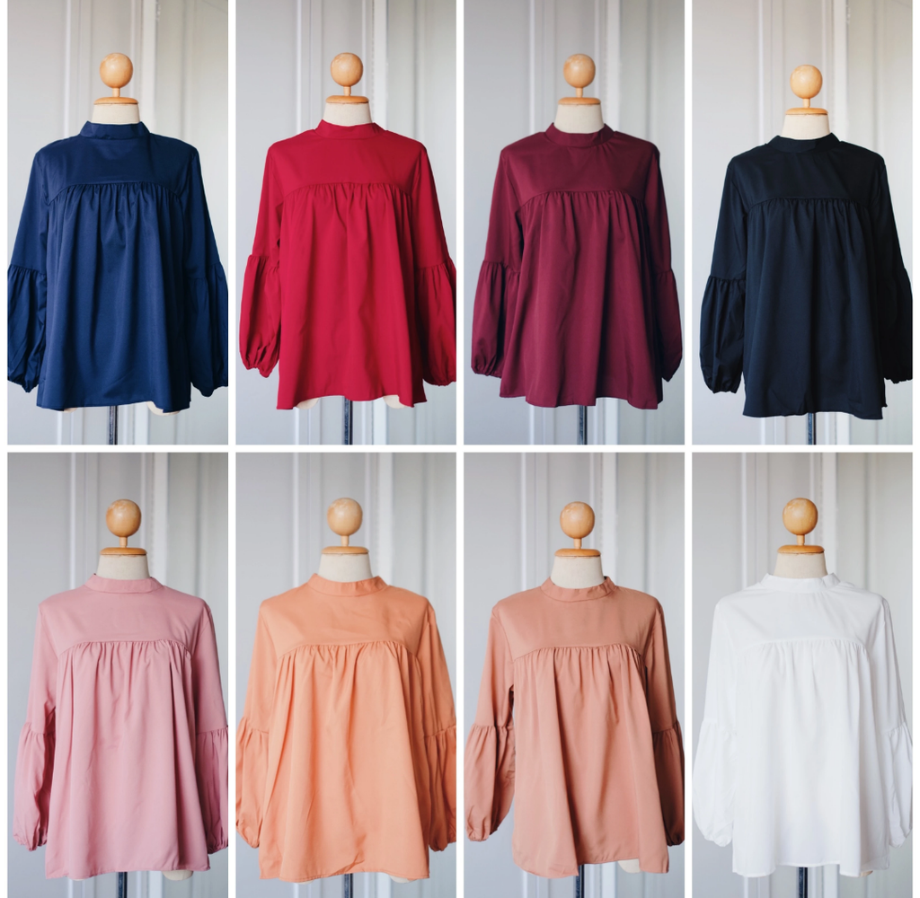 Plain Doll Tops -2.0 -  Mila - Samiha Apparels