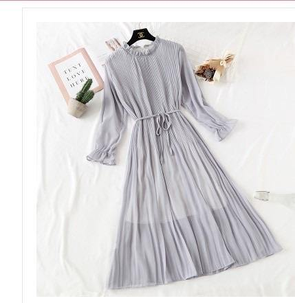Korean Pleated  dress 1.0