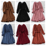 Korean Losya RUFFLE Dress